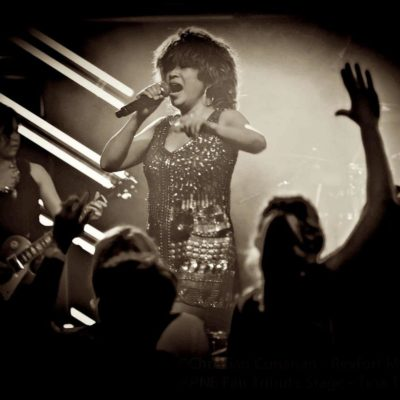 Picture of Luisa Marshall as Tina Turner at the PNE 2012