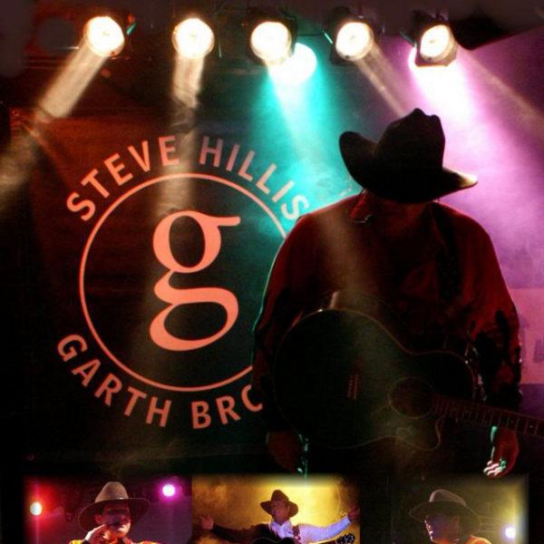 Steve Hillis Garth Brooks - Simply the Best Talent & Entertainment